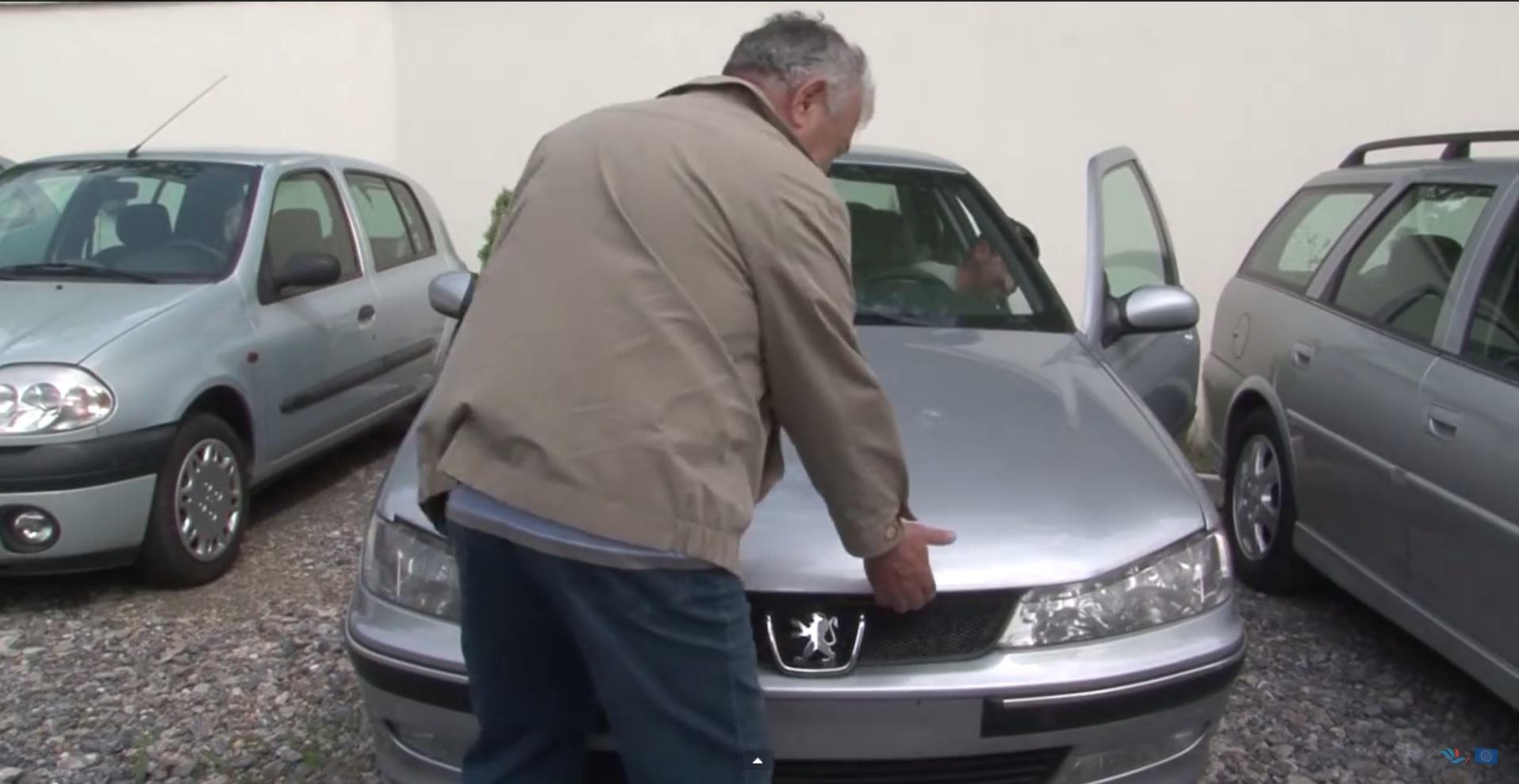 Razgledanje polovnog automobila
